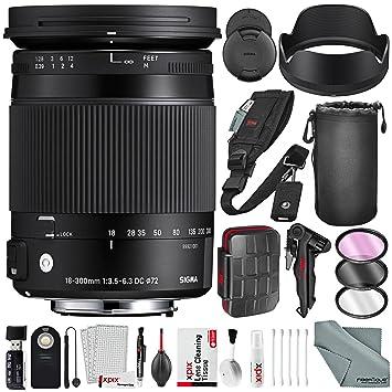 Sigma F3.5-6.3 - Lente para cámara Canon EF (Incluye Funda para ...