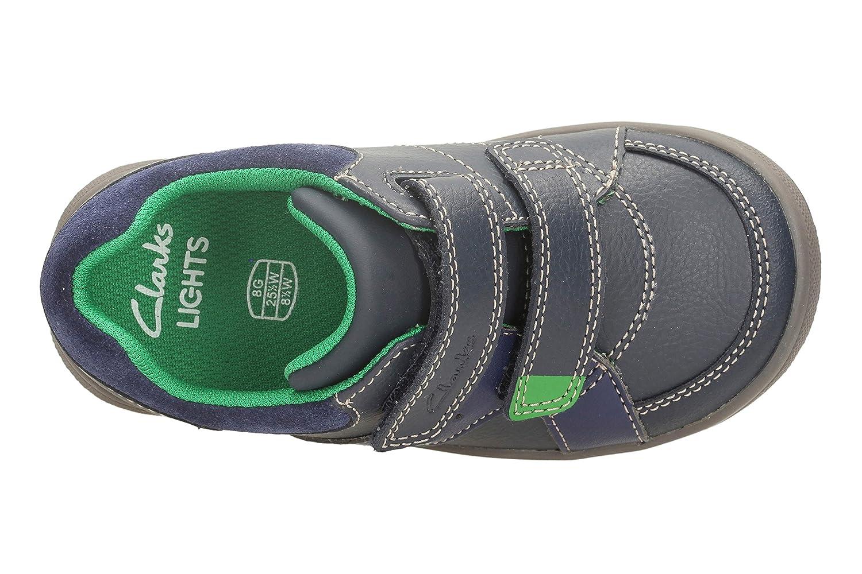 Boys Clarks Maltby Pop Casual Shoes Schuhe für Jungen