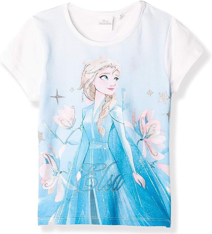 Disney Frozen 2 Elsa & Anna - Camiseta oficial para niña, 100 ...
