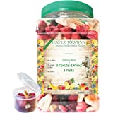 """Freeze Dried Fruit, 9 Delicious Fruits Strawberry, Blueberry, Raspberry & More #1 Best Taste Premium Farmers Market Quality Big Double-Sealed Artisan Product """"You'll Love it"""" Henry's Guarantee"""