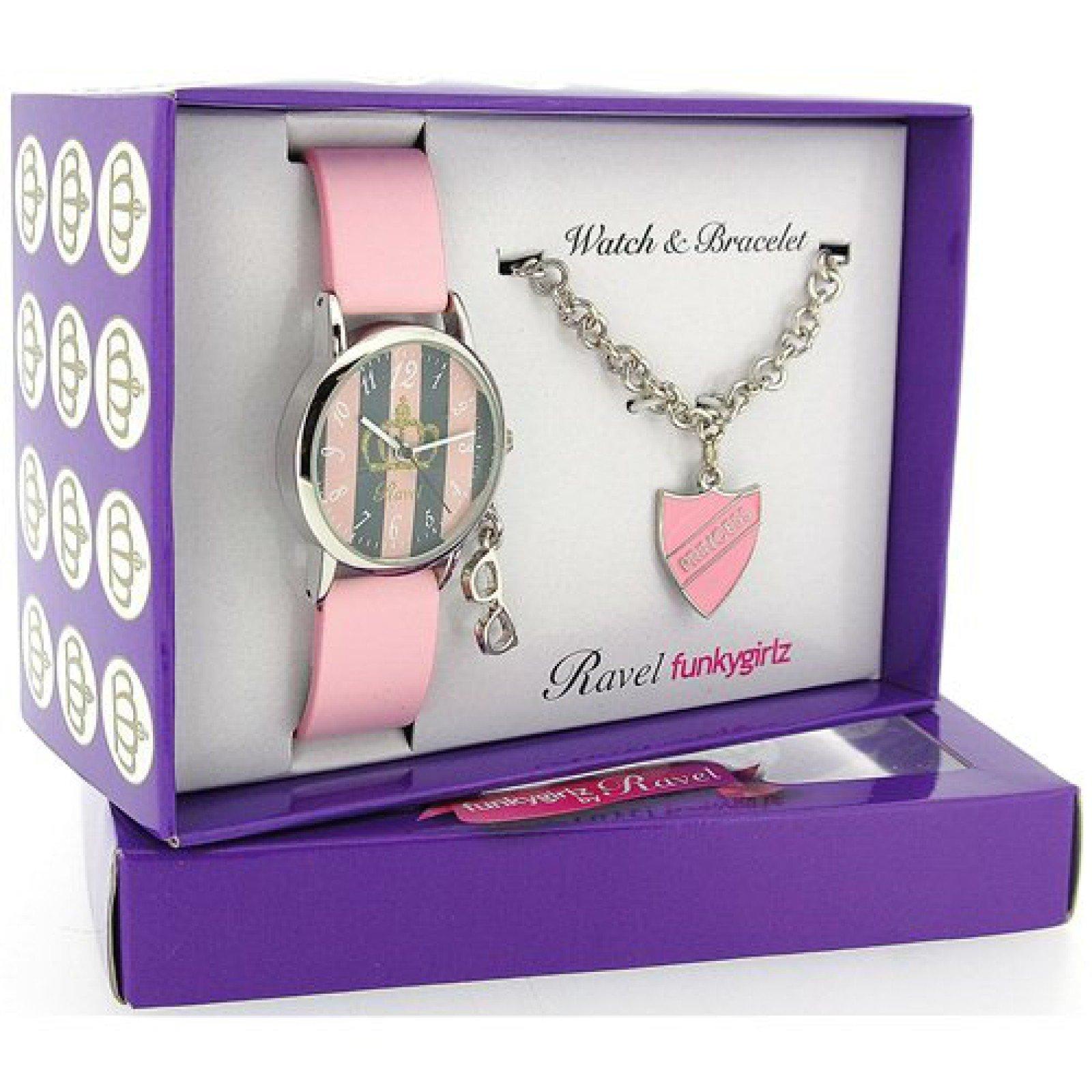 Ravel Girlz Princess Watch and Jewellery Girls Gift Set R3306