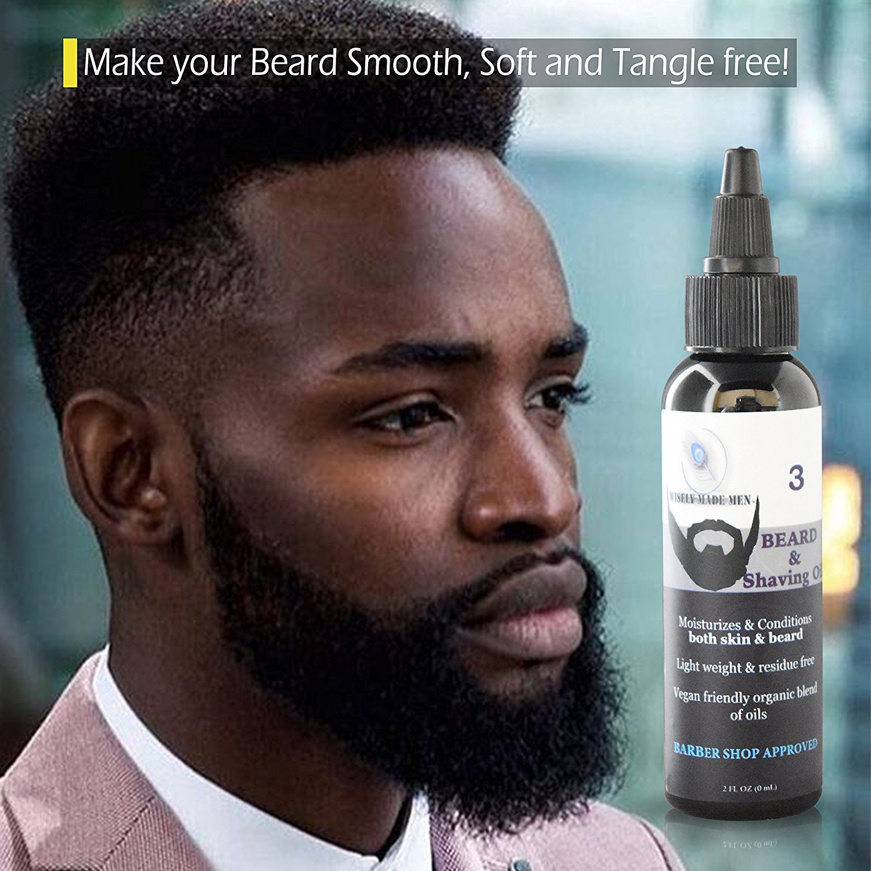 Amazon Com Wisely Made Beard And Shaving Oil Organic Beard
