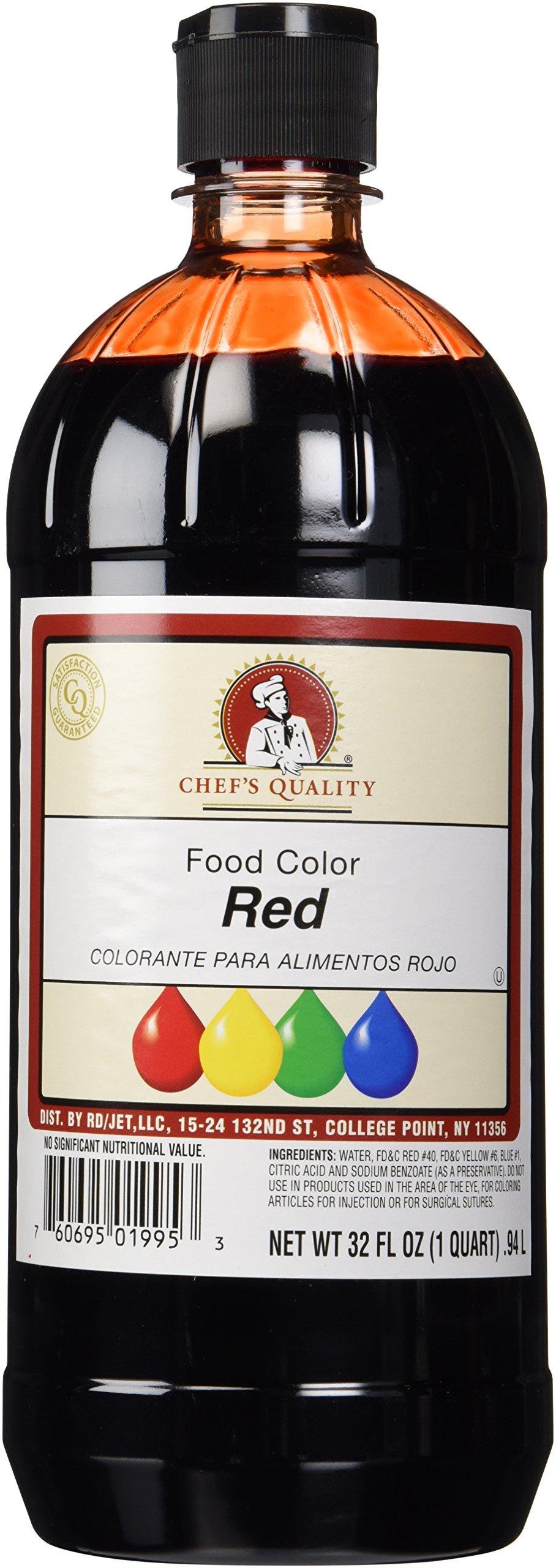 Liquid Red Food Color 32 OZ (1 Quart)
