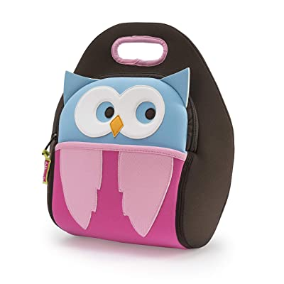 Dabbawalla Bags Kid's Lunch Bag, Insulated, Machine Washable, Owl: Baby