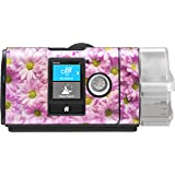 RespLabs CPAPwraps Compatible with ResMed AirSense — Personalize Your Device with a Specialty Skin [Floral]