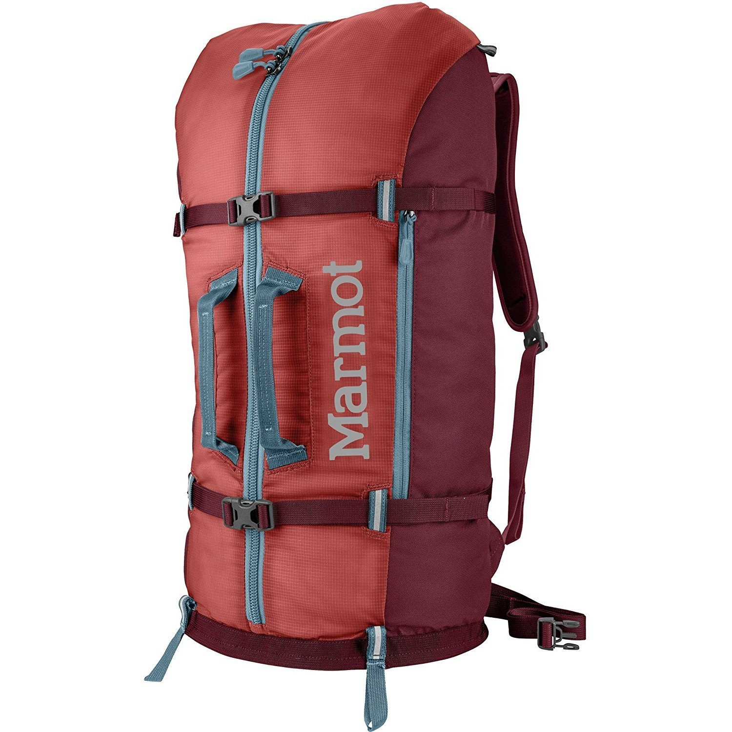 Marmot Rock Gear para vehículos de Escalada Mochila, Color Retro Red/Port, tamaño Talla única, Volumen Liters 33.0 23240-6903