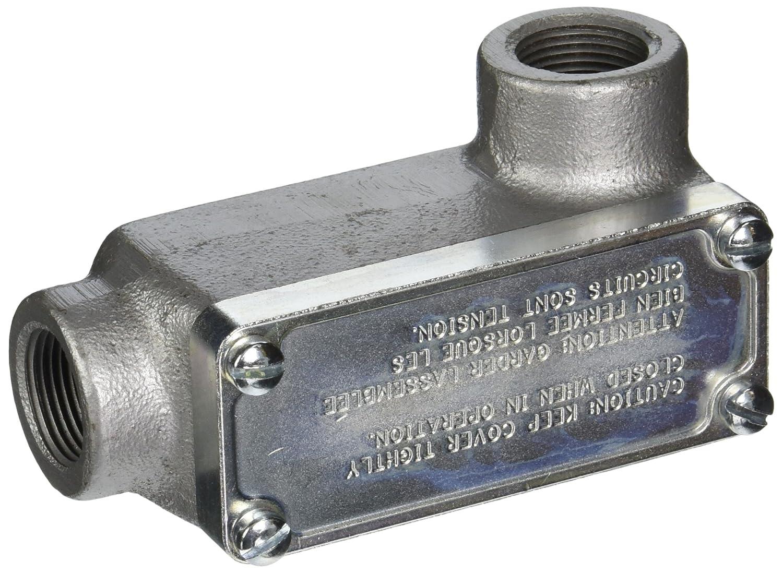 Iron 3//4 3//4 TBOELR2TB Thomas /& Betts OELR2-TB Conduit Body