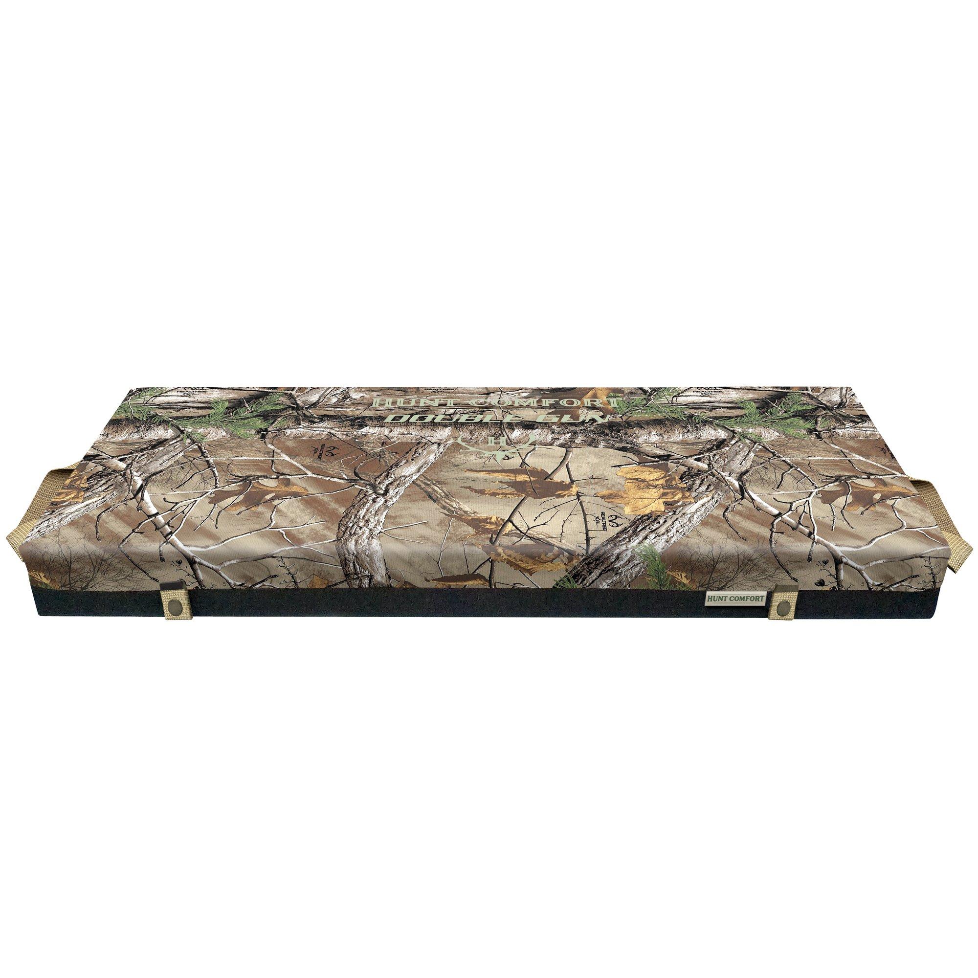 Hunt Comfort Double Gun LiteCore Premium Foam Hunting Seat, Realtree Xtra
