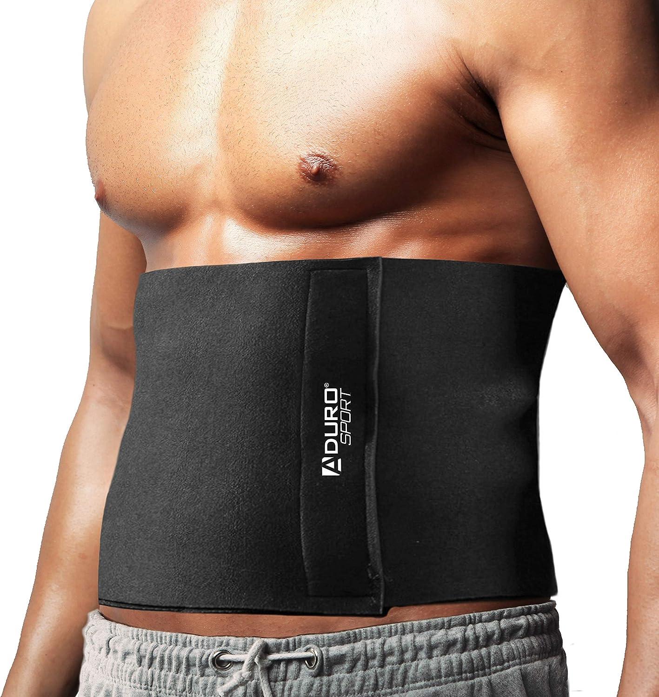 Men Women Waist Trainer Neoprene Belt Sweat Body Shaper Tummy Slimming Belt