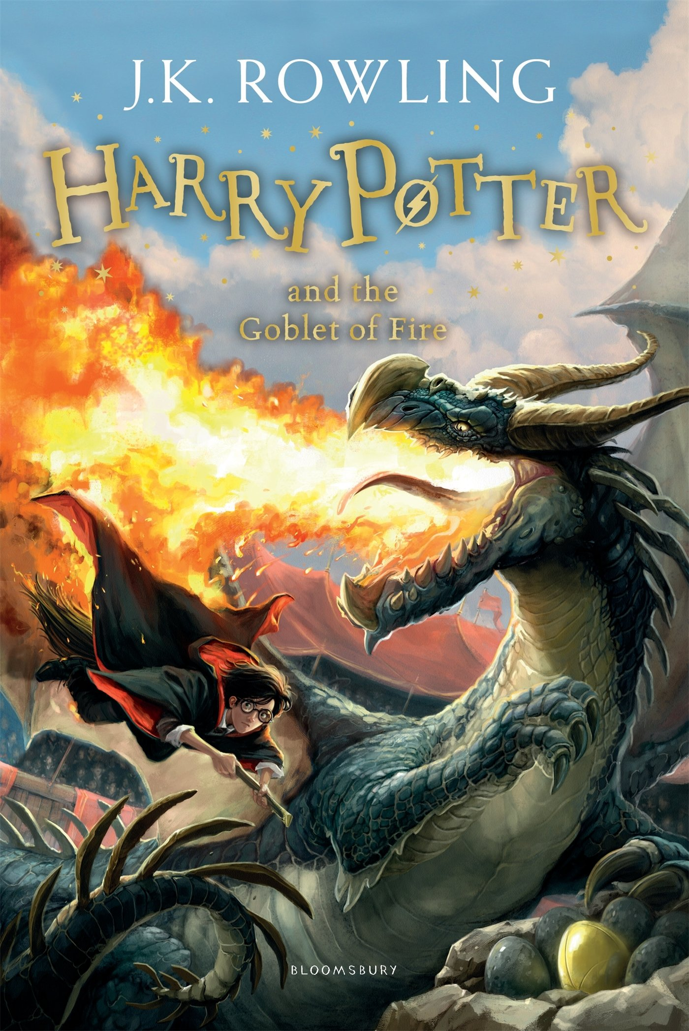 Harry Potter and the Goblet of Fire: Rowling, J.K.: 8601418346777 ...