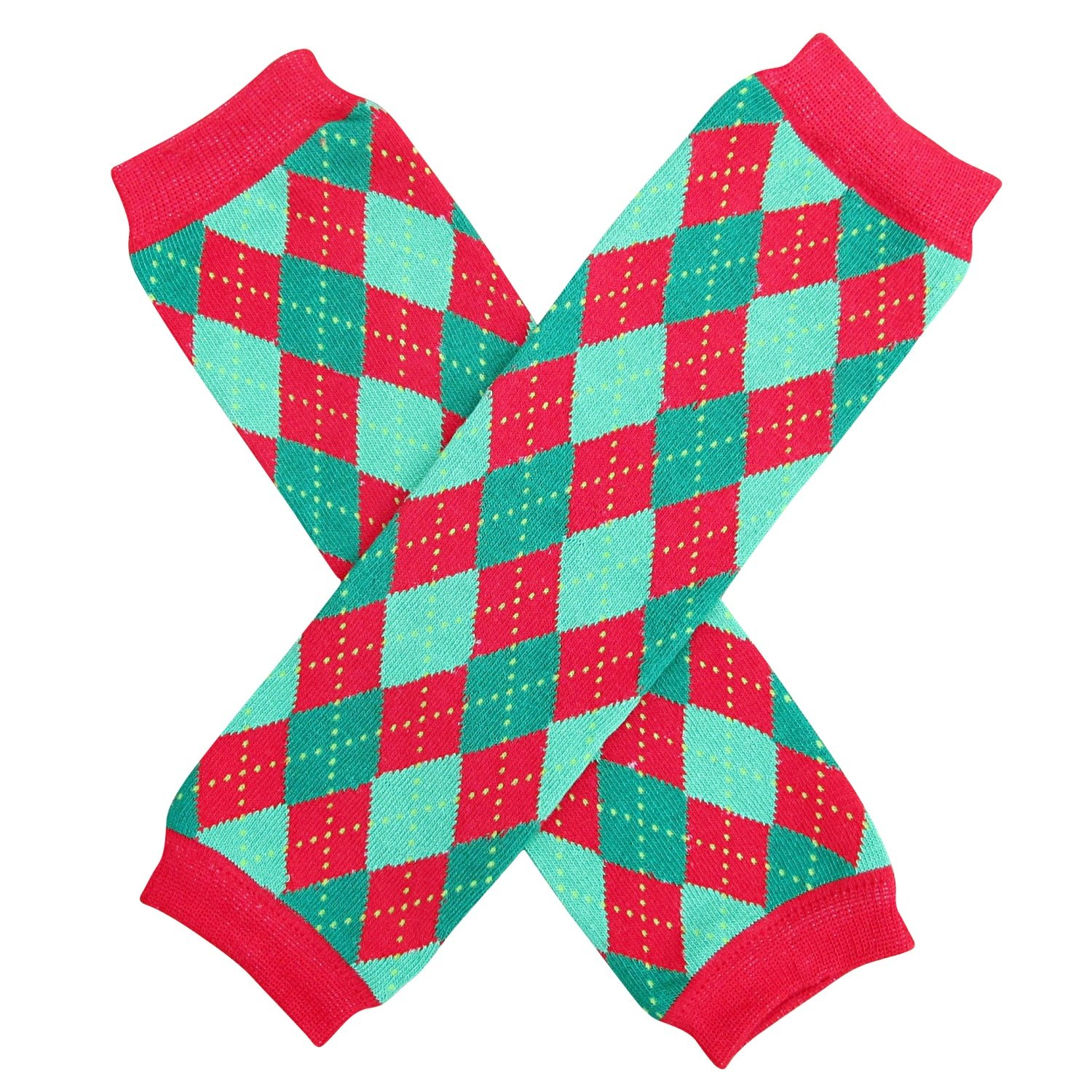 Christmas Holiday Winter Party Styles Leg Warmers - One Size - Baby, Toddler, Girl, Boy CLW-ArgI