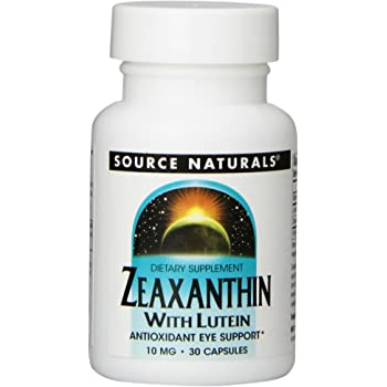 Source Naturals Zeaxanthin With Lutein 10 mg - 30 Capsules, pack of 2