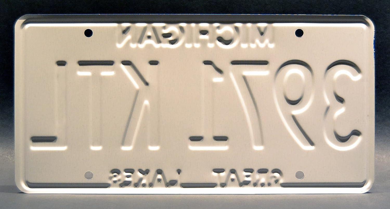 3971 KTL Metal Stamped Vanity Prop License Plate 3971KTL Celebrity Machines Ash vs Evil Dead Ash William/'s Oldsmobile