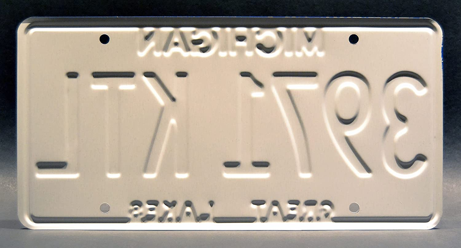 Celebrity Machines Ash vs Evil Dead Metal Stamped Vanity Prop License Plate 3971KTL 3971 KTL Ash William/'s Oldsmobile