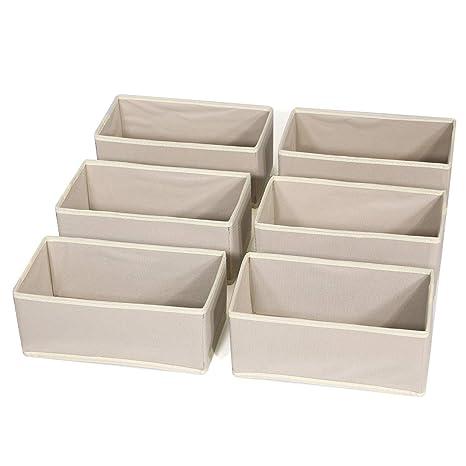 Amazon.com: KIMIANDY Juego de 6 cajas de almacenamiento ...