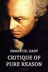 Critique of Pure Reason Kindle Edition