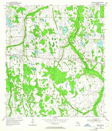 Amazon.com : YellowMaps Oviedo SW FL topo map, 1:24000 Scale ...