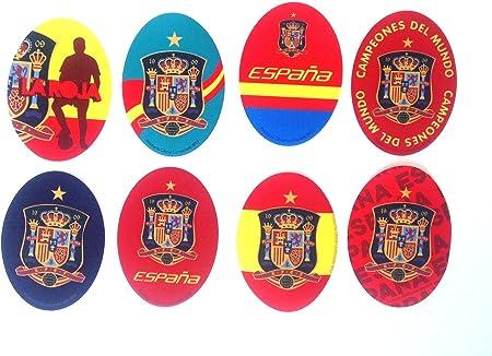 Parches termoadhesiovs escudo España,8 unidades y difrente dibujo ...