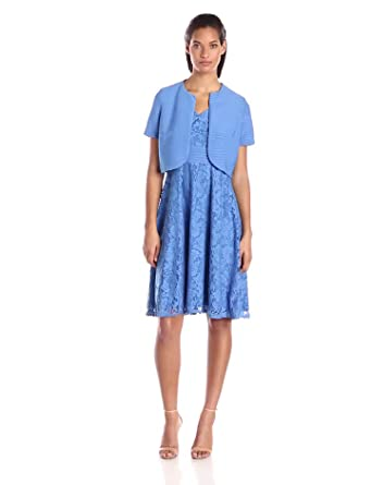 Danny Amp Nicole Women S Short Sleeve Jacket With Fit And