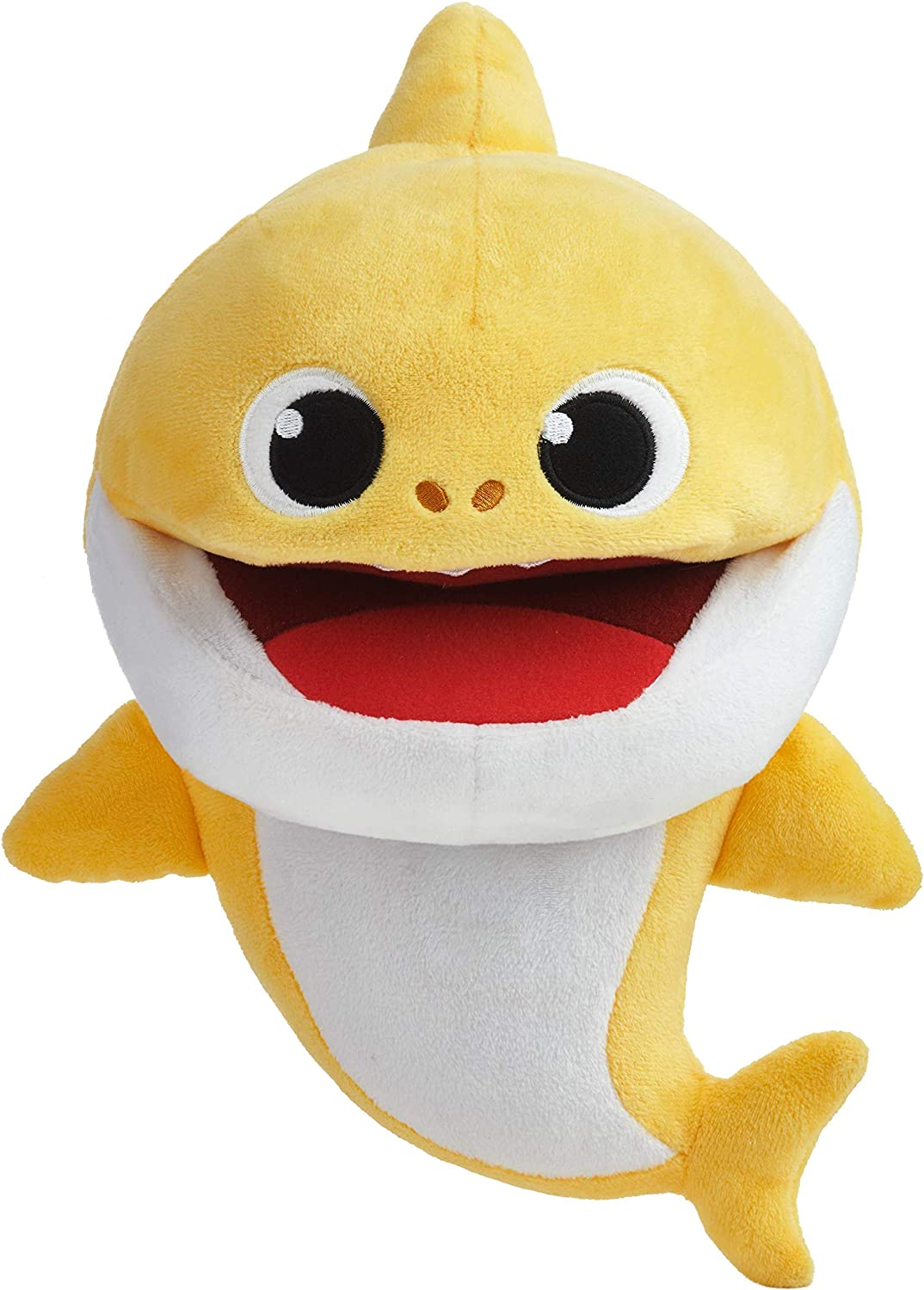 Wowwee Pinkfong Baby Shark Official Song Puppet With Tempo Control Baby Shark Interactive Preschool Plush Toy