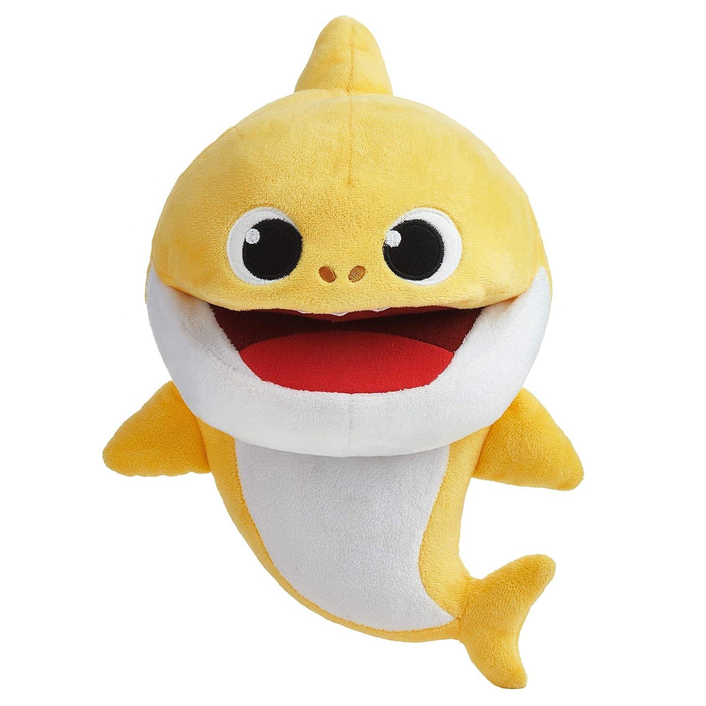 Amazon.com: Pinkfong bebé tiburón felpa cachorro: Toys & Games