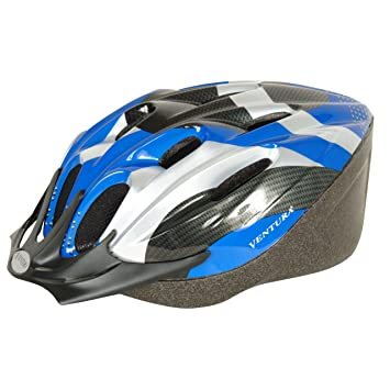 Inmold Road Helmet M/L Blue/White 58-61