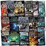 Clive Cussler Dirk Pitt Series Collection 16 Books Set Pack RRP: 111.84 (Dir...