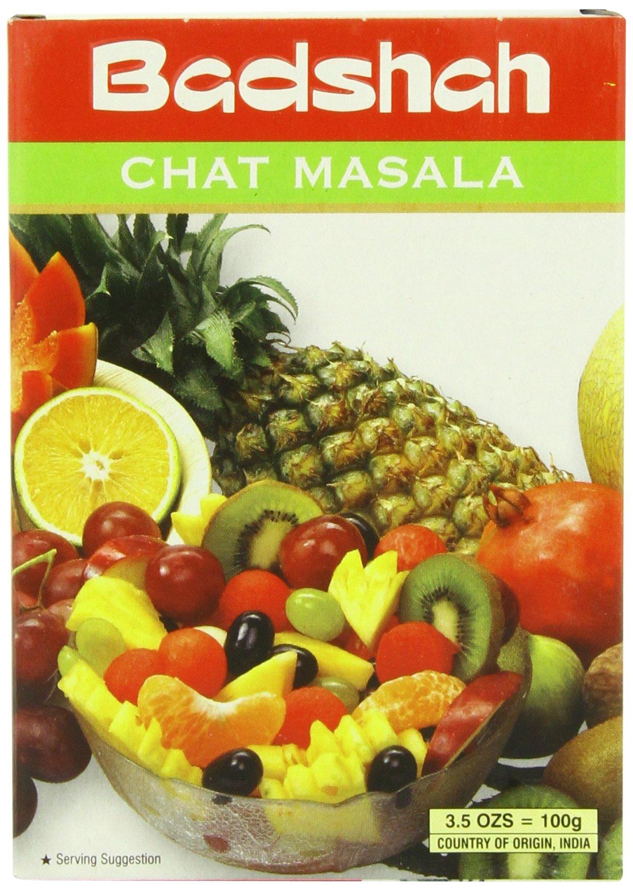 Badshah Masala, Chat, 3.5-Ounce Box (Pack of 12)