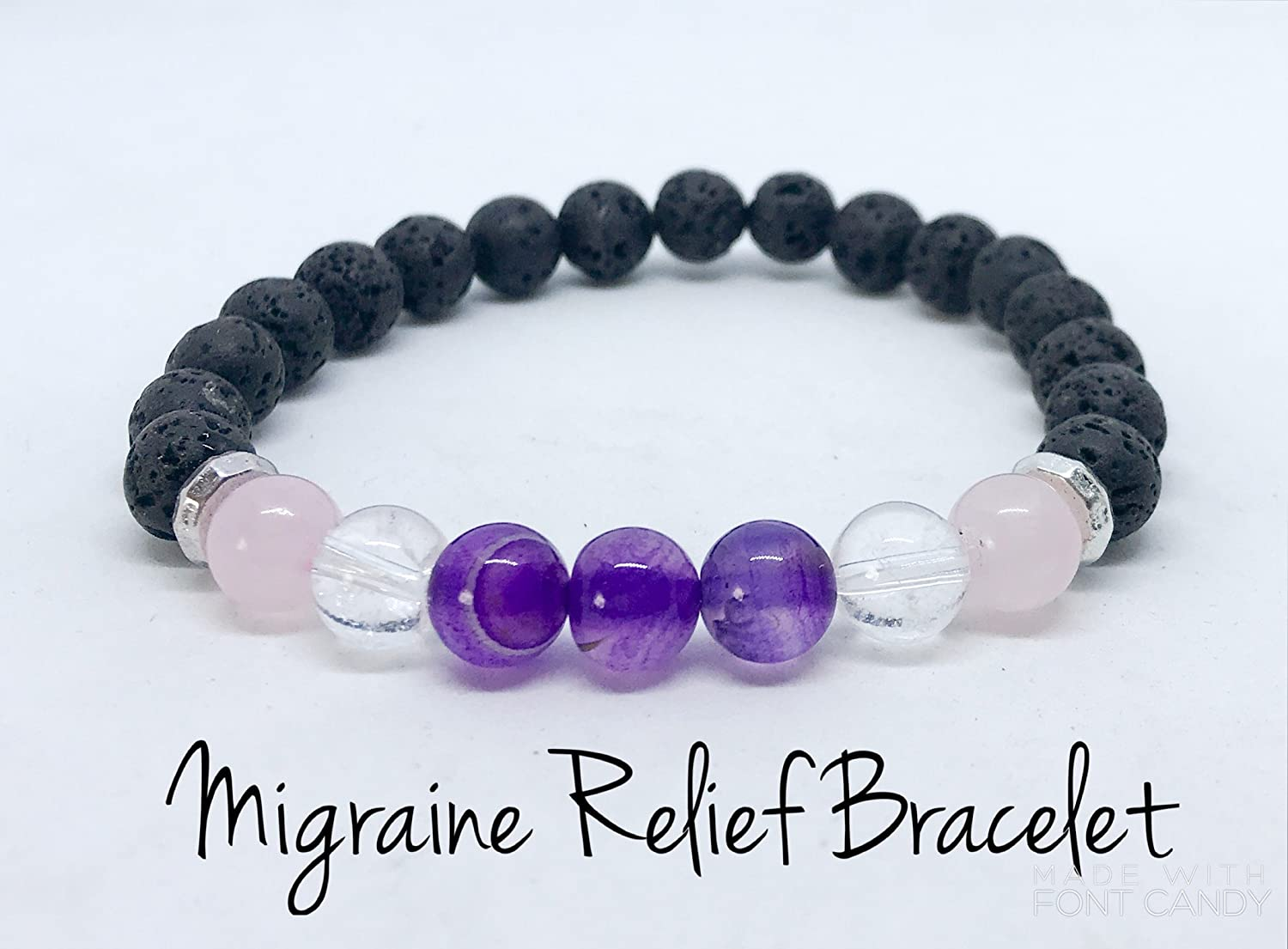 Migraine Support Aromatherapy Diffuser Bracelet