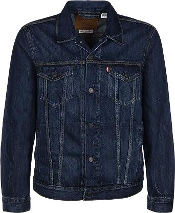 8fd612a3a330 Levi s Herren Jeansjacke The Trucker Jacket, Blau (Palmer 0352), X-Small