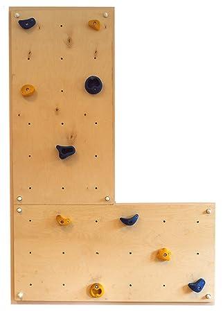 Gartenpirat Indoor Kletterwand IW2 Kinder-Klettern im Haus Wohnung ...