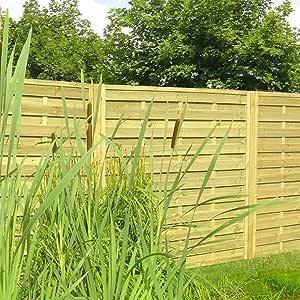 Global 03207 - Malla Cortavientos de 180 x 180 cm, Panel de Rejilla de Madera para jardín: Amazon.es: Jardín