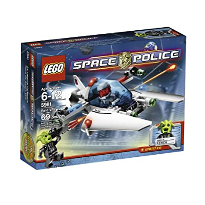 LEGO Space Police Raid VPR (5981): Toys & Games
