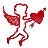 """Northlight 17"""" Lighted Valentine's Day Cupid with"""