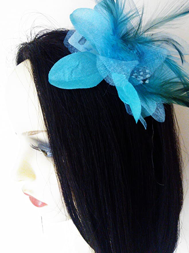 Diseño de flores de y a los de relleno de plumas de isla japonesa diseño de pesadilla antes de Metal cinta para la cabeza diseño con texto en inglés perfecto para y