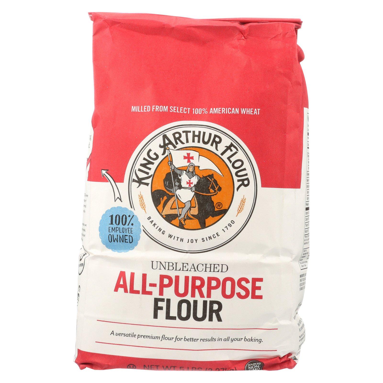 King Arthur Unbleached Flour - Case of 8 - 5
