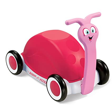 Amazon Com Radio Flyer 3 In 1 Walker Wagon Pink Toys Games