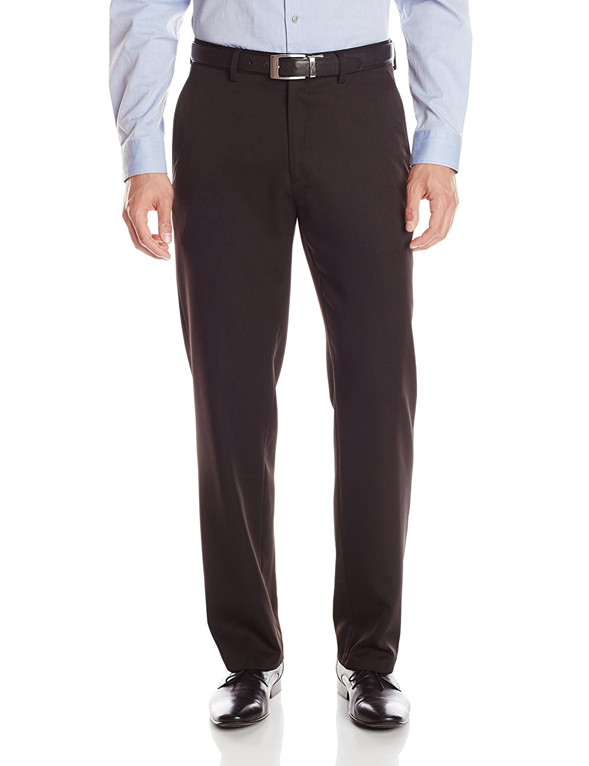 Haggar Men's Travel Performance Gabardine Tailored-Fit Suit Separate Pant Haggar Men' s Bottoms HY70276