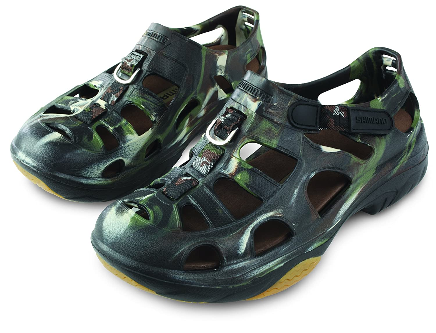 Shimano EVAIR MARINE Fishing Shoes B005H0MWIG Size 06|Camo