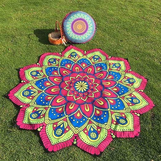 janly® Lotus Hippy tapiz colgante de pared de Bohemia flores ...