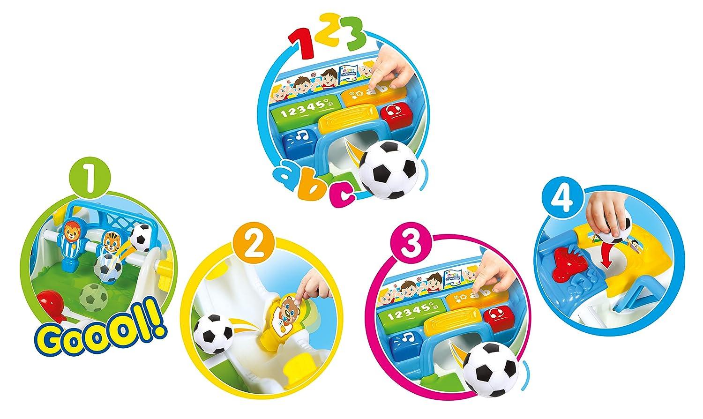 Clementoni 59003.2-Baby-Tischfu/ßballspiel bunt