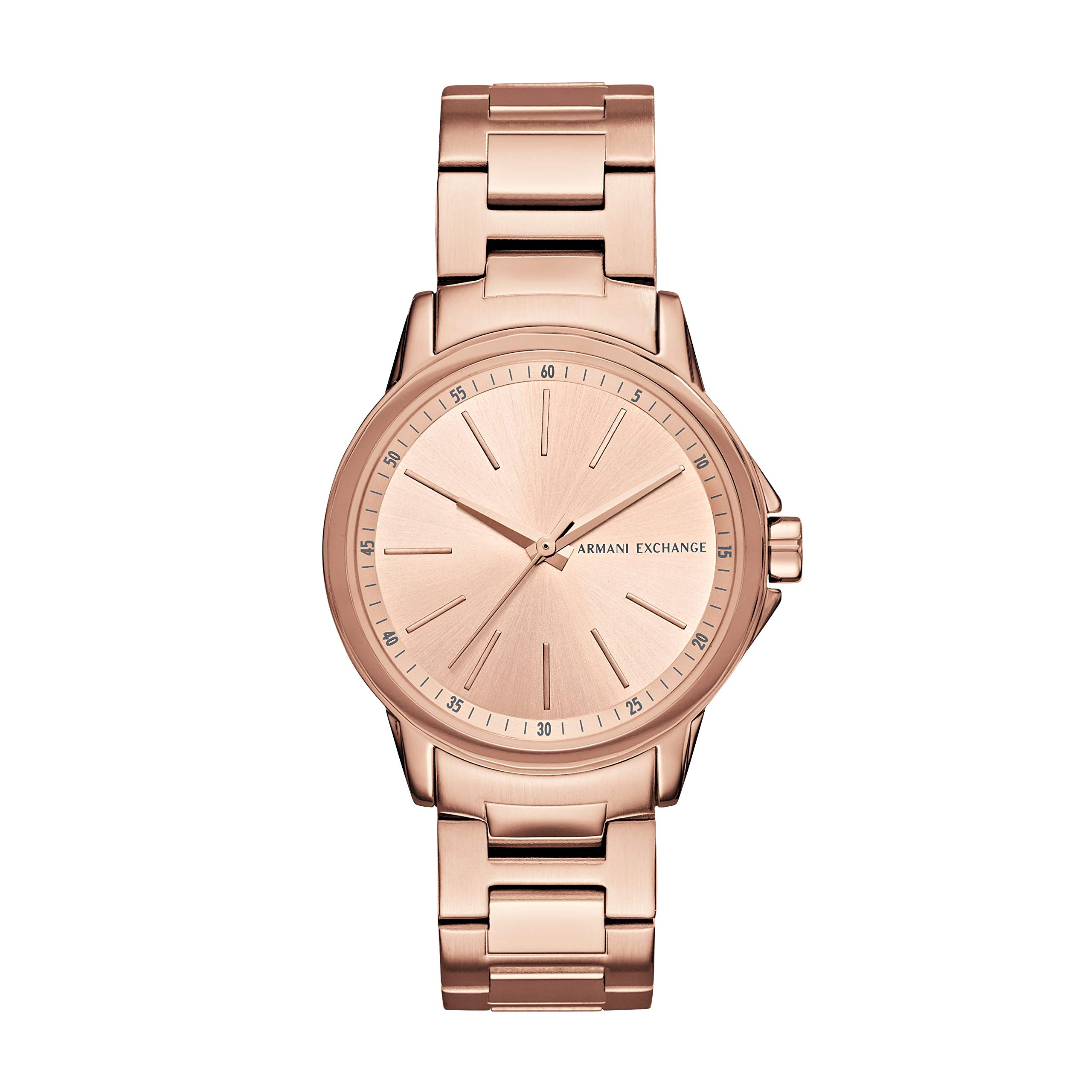 Armani Exchange Women's AX4347 Rose Gold Watch by A|X Armani Exchange
