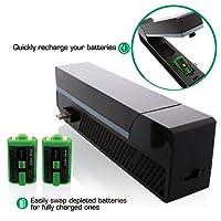 Nyko 86118 Modular power station game console part/accessory - Accesorios y piezas de videoconsolas (Negro, 25 h) - Xbox One