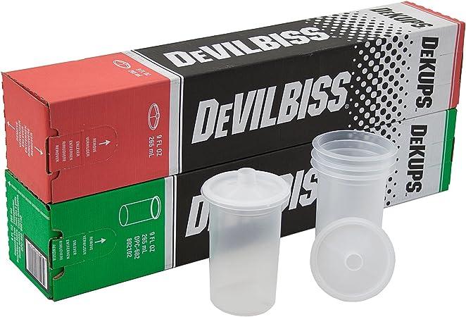Devilbiss Einwegbechersystem Einmalbecher 265ml Für Smart Spot Repair 32st Innenbecher Auto