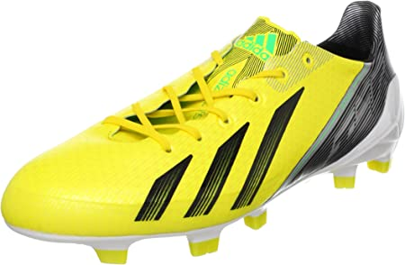 Adidas ADIZERO F50 TRX FG SYN Amarillo Hombre Zapatos de Futból Sprint Frame MiCoach