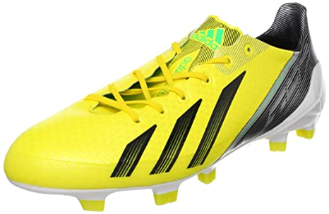size 40 53b6d 5193a Adidas ADIZERO F50 TRX FG SYN Giallo Uomo Scarpe di Calcio Sprint Frame  MiCoach
