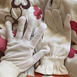 Amazon Co Jp 京都西陣の絹糸屋さんのシルク手袋 ドラッグストア
