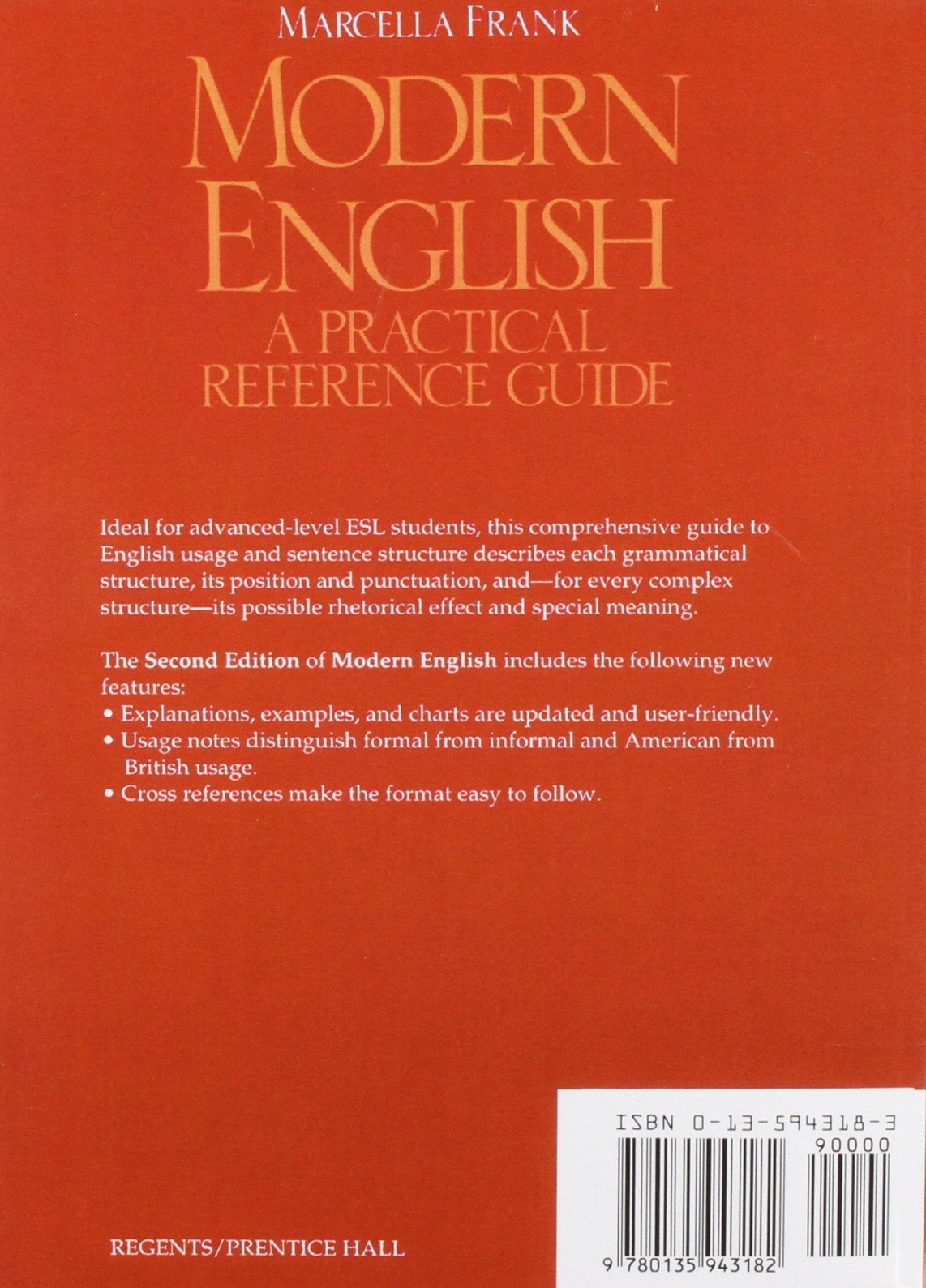 Modern english;: a practical reference guide: marcella frank.