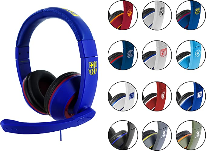 Subsonic - Auriculares Gaming con Licencia Oficial FC Barcelona ...