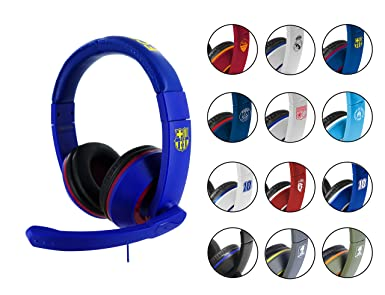 Subsonic - Auriculares Gaming con Licencia Oficial FC Barcelona (PS4, Xbox One)